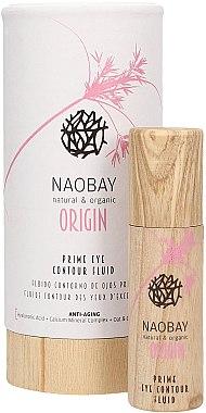 Флюид для кожи вокруг глаз основной уход - Naobay Origin Prime Eye Contour Fluid