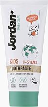 Духи, Парфюмерия, косметика Детская зубная паста, 0-5 лет - Jordan Green Clean Kids