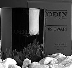 Парфумерія, косметика Odin 02 Owari - Парфумована свічка (тестер)