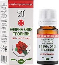 Духи, Парфюмерия, косметика Эфирное масло розы - Green Pharm Cosmetic