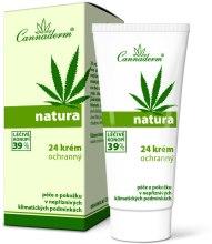 Духи, Парфюмерия, косметика Защитный кремдля ухода за кожей в течение всего дня при неблагоприятных погодных условиях - Cannaderm Natura 24 Organic