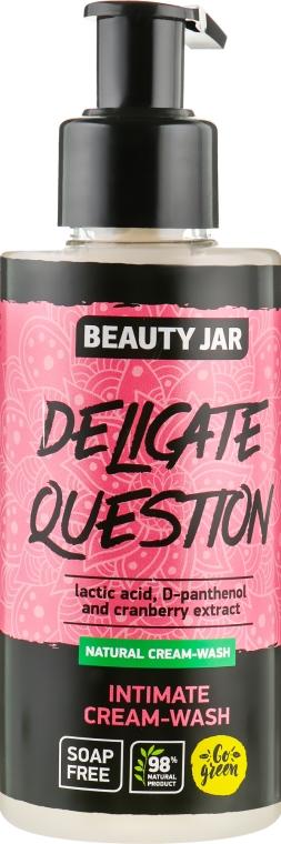 Крем-гель для интимной гигиены - Beauty Jar Delicate Question Intimate Cream-Wash
