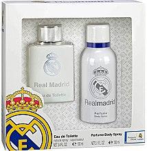 Духи, Парфюмерия, косметика Air-Val International FC Real Madrid - Набор (edt/100ml + deo/spray/150ml)