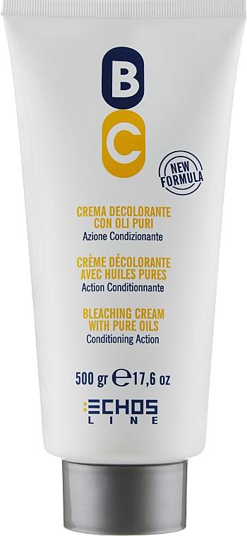 Осветляющий крем с волос - Echosline Bleaching Cream