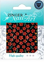 Духи, Парфюмерия, косметика Наклейки для дизайна ногтей, fda-179 - Zinger Nail Art Sticker