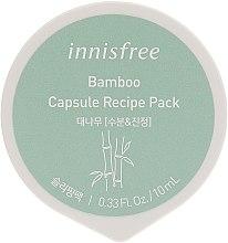 Духи, Парфюмерия, косметика Капсульная ночная маска для лица на основе экстракта бамбука - Innisfree Capsule Recipe Pack Bamboo