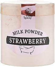 "Духи, Парфюмерия, косметика Молочная пудра для ванны ""Strawberry"" - Флори Спрей"