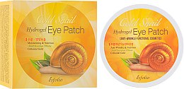 Духи, Парфюмерия, косметика Гидрогелевые патчи под глаза с золотой улиткой - Esfolio Gold Snail Hydrogel Eye Patch