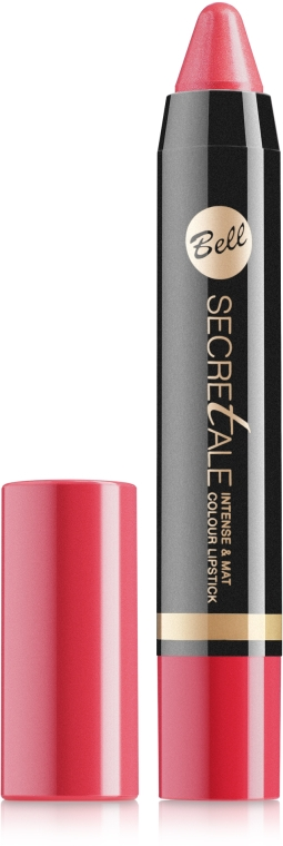 Помада-карандаш для губ - Bell Secretale Intense&Mat Colour Lipstick