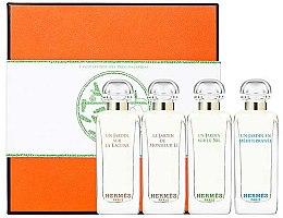 Духи, Парфюмерия, косметика Hermes Miniature Set Garden - Набор (edt/7.5ml + edt/7.5ml + edt/7.5ml + edt/7.5ml)