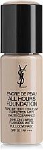 Духи, Парфюмерия, косметика Стойкий тональный крем - Yves Saint Laurent All Hours Encre de Peau Long-Lasting Foundation SPF 20 (тестер)