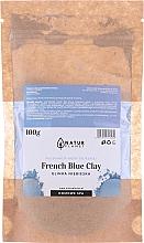 Духи, Парфюмерия, косметика Маска для лица с голубой глиной - Natur Planet French Blue Clay