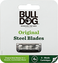 Духи, Парфюмерия, косметика Бритвенные лезвия - Bulldog Skincare Original 4