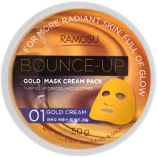 Духи, Парфюмерия, косметика Альгинатная крем-маска с золотом - Ramosu Cream Pack Gold Witches Spell