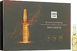 Духи, Парфюмерия, косметика Омолаживающий ампульный комплекс для лица - Senana Real Gold luxuary Effect