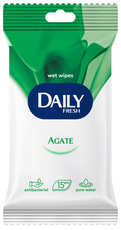 Влажные салфетки универсальные - Daily Fresh Wet Wipes Agate