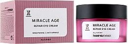 Духи, Парфюмерия, косметика Восстанавливающий крем для глаз для осветления - Thank You Farmer Miracle Age Cream