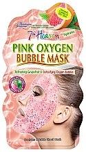 "Духи, Парфюмерия, косметика Пузырьковая маска для лица ""Розовая"" - 7th Heaven Pink Oxygen Bubble Mask"