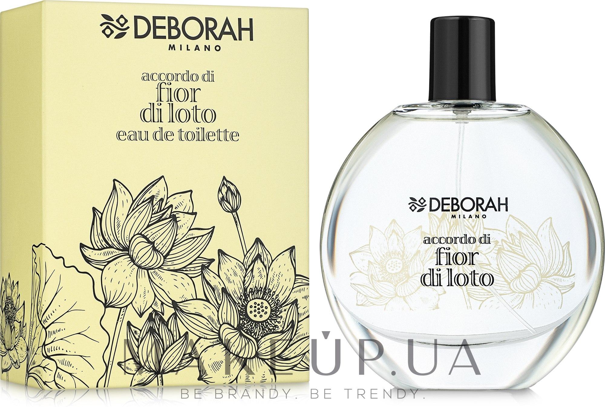 Deborah Fior di Loto - Туалетная вода — фото 100ml