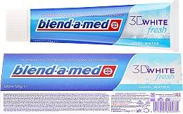 """Духи, Парфюмерия, косметика Зубная паста """"Прохладная Свежесть"""" - Blend-a-med 3D White Fresh Cool Water Toothpaste"""