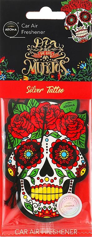 "Ароматизатор для авто ""Silver Twilight"" - Aroma Car Dia De Los Muertos"
