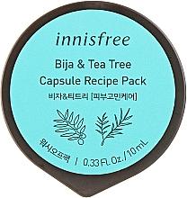 Духи, Парфюмерия, косметика Маска с экстрактом семян торреи и чайного дерева в капсуле - Innisfree Capsule Recipe Pack