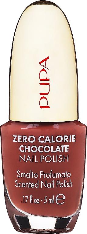 Лак для ногтей - Pupa Zero Calorie Chocolate Nail Polish