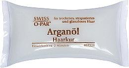 Духи, Парфюмерия, косметика Маска для сухих, поврежденных и тусклых волос с аргановым маслом - Swiss-o-Par Haarkur Arganol