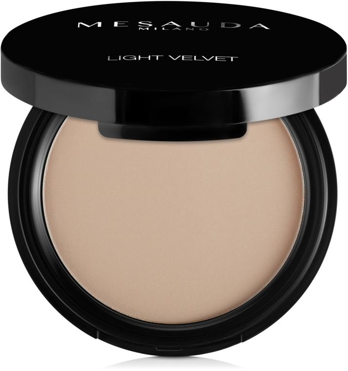 Компактная пудра - Mesauda Milano Light Velvet Compact Powder (в упаковке)
