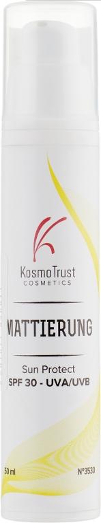 Матирующий крем SPF 30 - KosmoTrust Cosmetics Mattierung