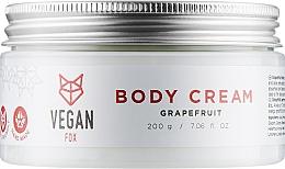 """Духи, Парфюмерия, косметика Крем для тела """"Грейпфрут"""" - Vegan Fox Red Grapefruit Cream"""
