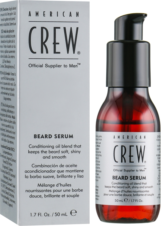 Сыворотка для бороды - American Crew Official Supplier to Men Beard Serum