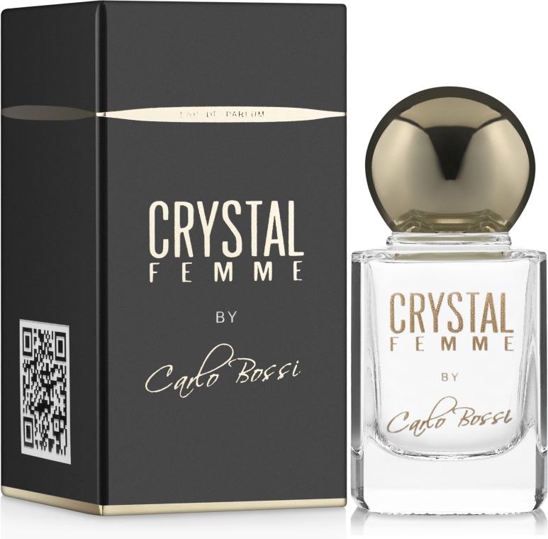 Carlo Bossi Crystal Femme - Парфюмированная вода (мини)
