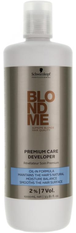 Бальзам-проявник 2% - Schwarzkopf Professional BlondMe Balsam Blonde Developer — фото N1