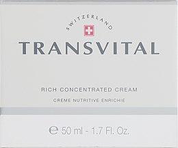 Духи, Парфюмерия, косметика Концентрированный крем для лица - Transvital Rich Concentrated Cream