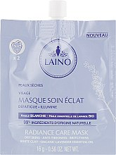 Очищающая маска для лица - Laino Radiance Care Mask White Clay — фото N1