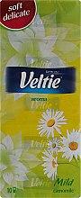 Духи, Парфюмерия, косметика Набор бумажных носовых платочков - Veltie Aroma Camomile