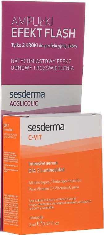 Набор сывороток - SesDerma Laboratories Efekt Flash (serum/2ml + serum/2ml)