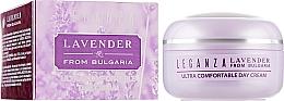 Духи, Парфюмерия, косметика Ультракомфортный дневной крем - Leganza Lavender Ultra Comfortable Day Cream