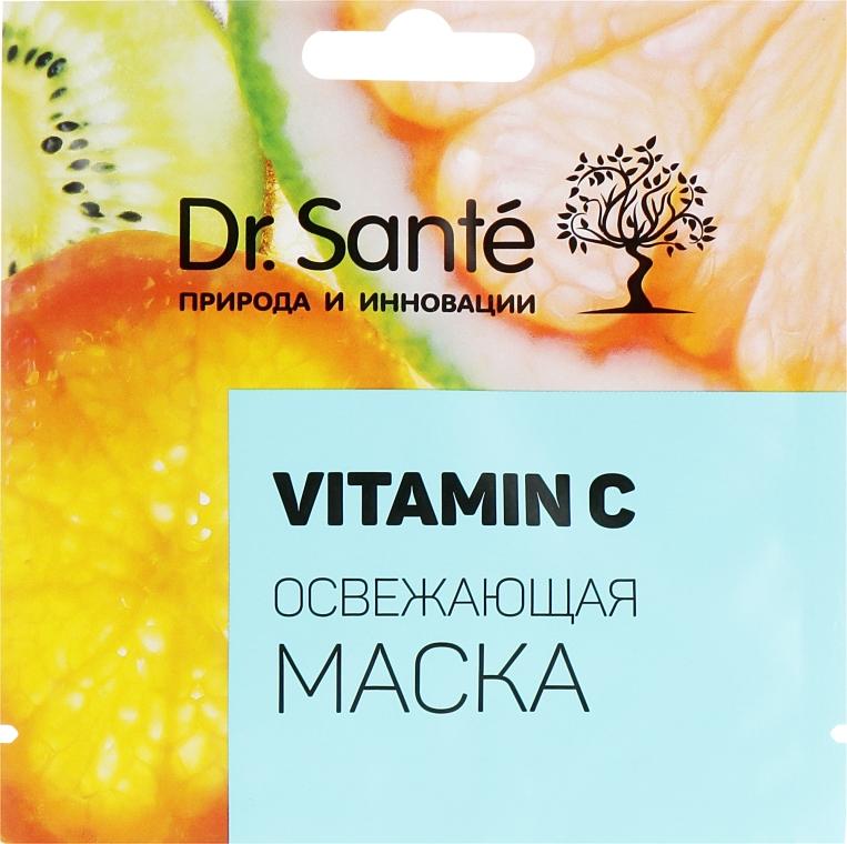 Ультраувлажняющая и освежающая маска с витамином С - Dr. Sante Vitamin C