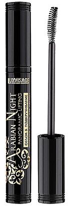 """Тушь для ресниц """"Объем и подкручивание"""" - Luxvisage Arabian Night Mascara"""