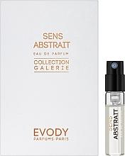 Духи, Парфюмерия, косметика Evody Parfums Sens Abstrait - Парфюмированная вода (пробник)