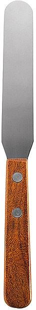 Шпатель для нанесения воска на ноги, металлический, 21 см - Peggy Sage