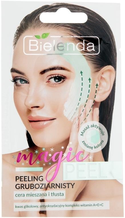 Крупнозернистый пилинг для жирной и смешанной кожи лица - Bielenda Magic Peel