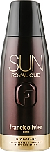 Духи, Парфюмерия, косметика Franck Olivier Sun Royal Oud - Парфюмированный дезодорант