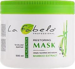 Духи, Парфюмерия, косметика Маска для сухих и окрашенных волос - La Fabelo Bamboo Extract Mask