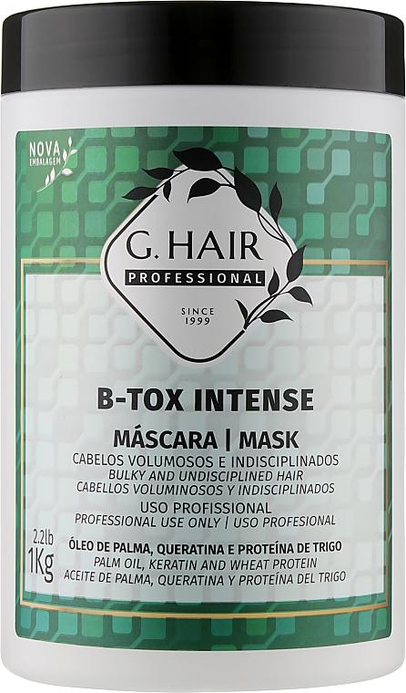 Холодный ботокс для волос - Inoar G-Hair B-Tox Intense