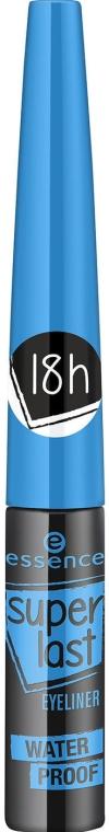 Жидкая водостойкая подводка для глаз - Essence SuperLast Eyeliner Waterproof