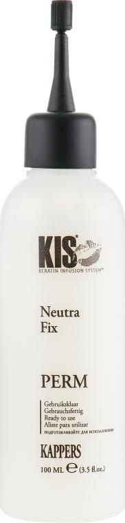 Засіб для хімічної завивки волосся, щадний, для товстого волосся - Kis NeutraWave 0 Perm — фото N4