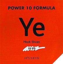 """Духи, Парфюмерия, косметика Тканевая маска """"Эластичность"""" - It's Skin Power 10 Formula Mask Sheet YE"""